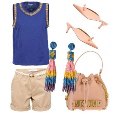Outfit Deliziosa in shorts