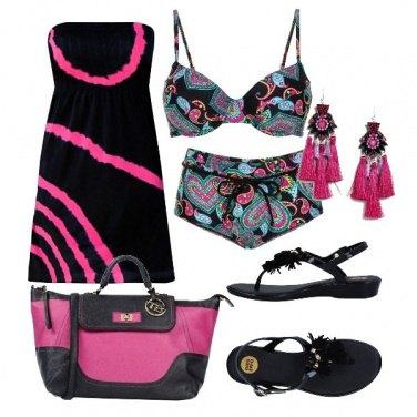 Outfit In spiaggia fino a sera