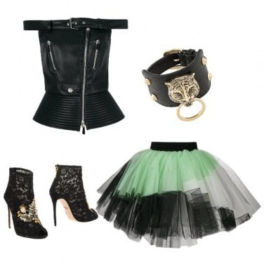 Outfit Luxury Rock