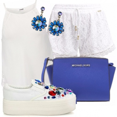Outfit Love white