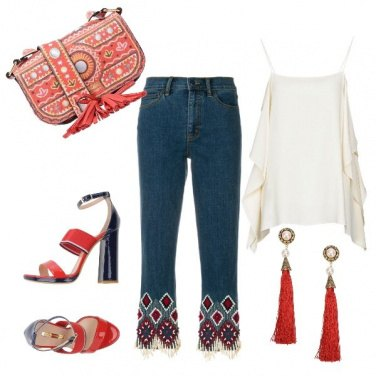 Outfit Shopping vintage