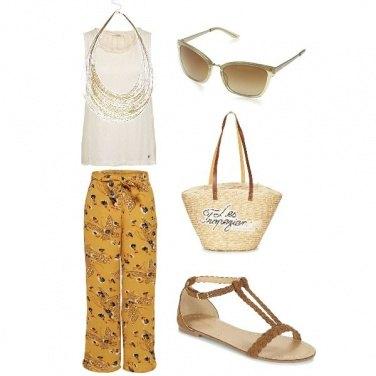 Outfit Pantalone fantasia