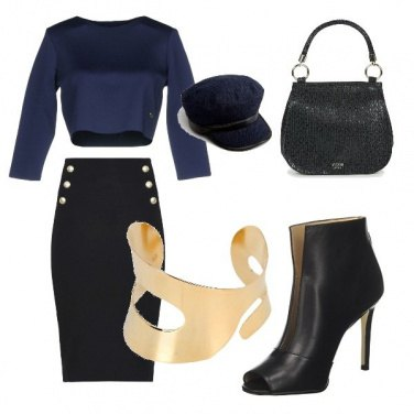 Outfit Bella in blu