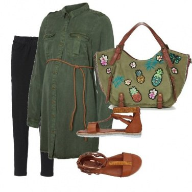 Outfit GreEn Mama
