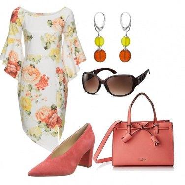 Outfit Dettagli color pesca