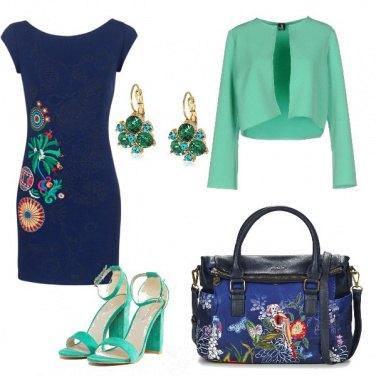 Outfit Zaffiro e smeraldo
