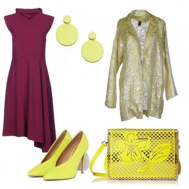 Outfit Malva e lime