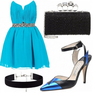 Outfit Blue lightning