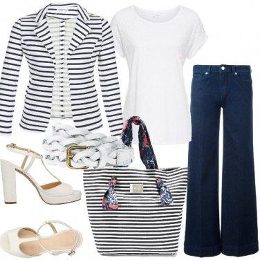 Outfit La t-shirt bianca