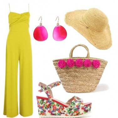 Outfit Summer colors