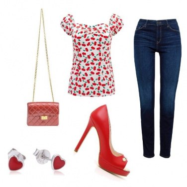 Outfit Pin up primaverile