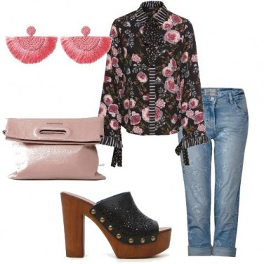 Outfit Zoccoli trendy