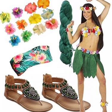 Outfit Festa hawaiana