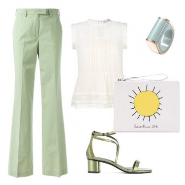 Outfit Fresh and green