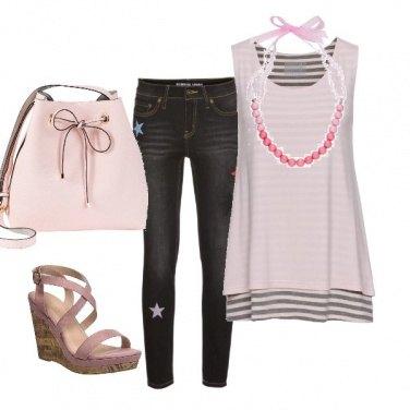 Outfit Un po' di rosa