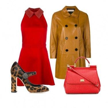 Outfit Bon ton fiammante