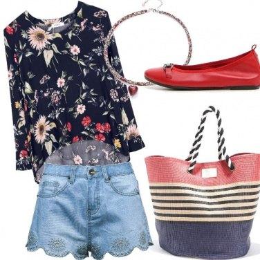 Outfit Un po' di rosso