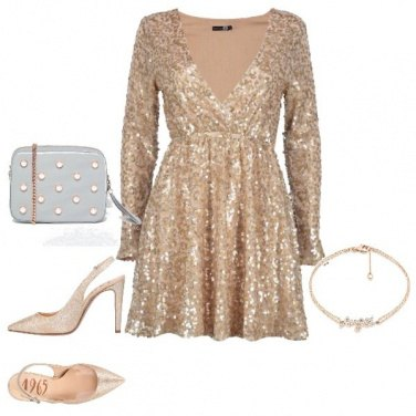 Outfit Abito luminoso Trendy Party