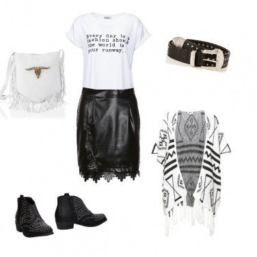 Outfit Etnico Rock