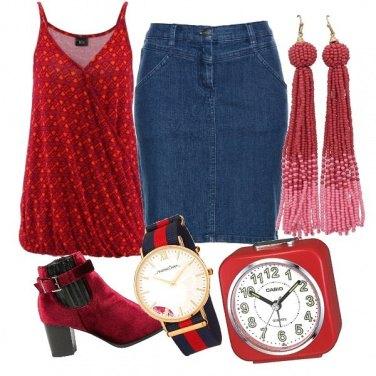 Outfit Fashion, con la gonna di jeans
