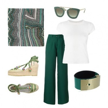 Outfit Green time