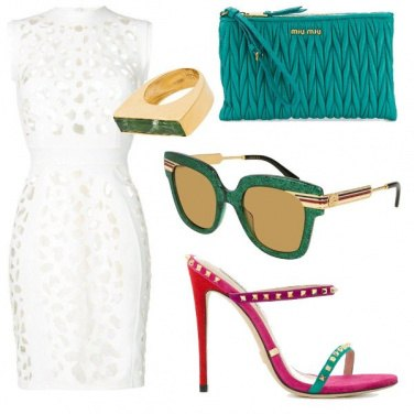 Outfit Bianco color