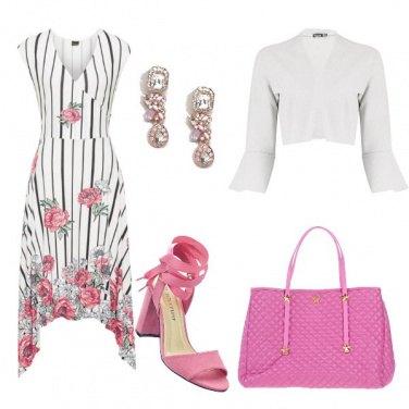 Outfit Tonalità di rosa