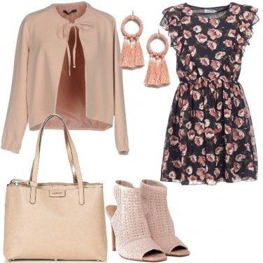 Outfit Mini abito fantasia floreale