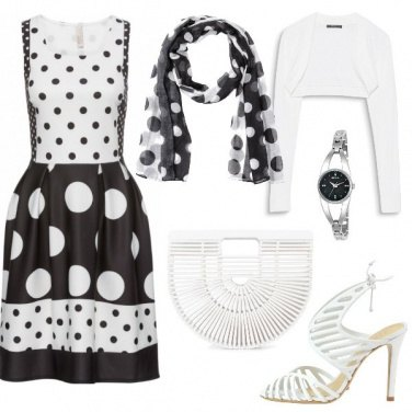 Outfit Dotts and Lines