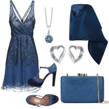 Outfit Blu principessa