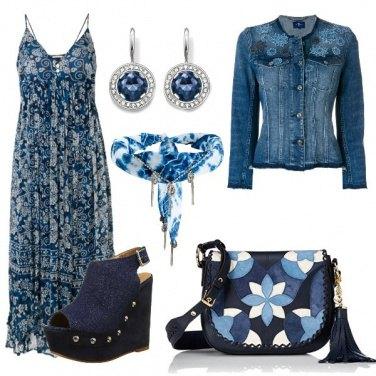 Outfit Zeppe e denim