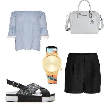 Outfit Sandalo glitter