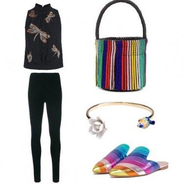 Outfit Accessori colorati