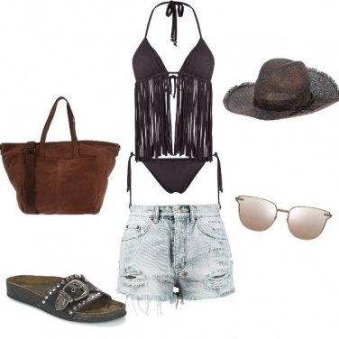 Outfit Etno chic on The beach