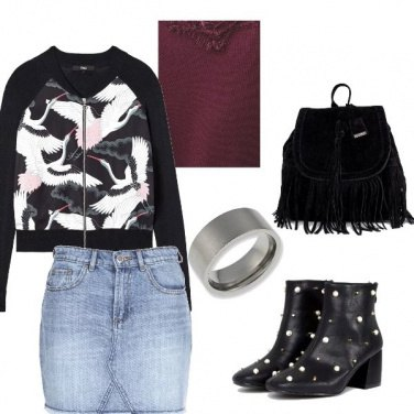 Outfit Rock day