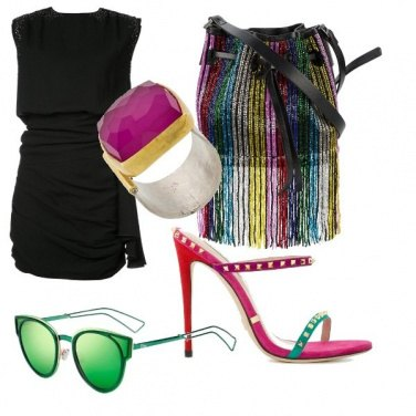 Outfit Black and colors