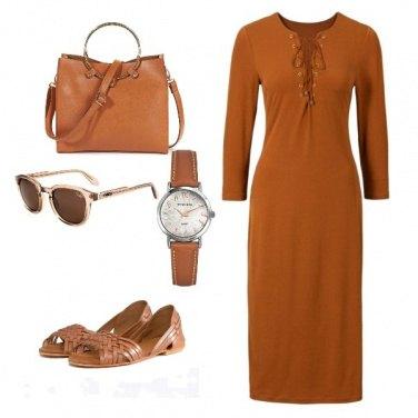 Outfit Classico monocolore!