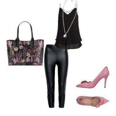 Outfit Nero delicato