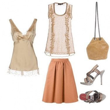 Outfit Semplice charme