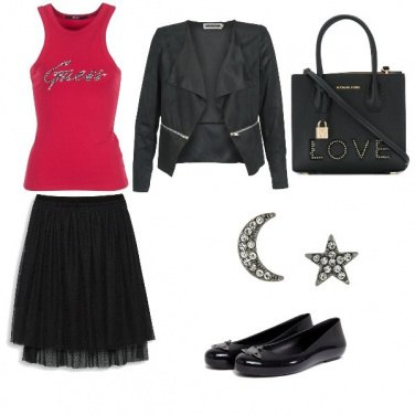 Outfit Cuore rock