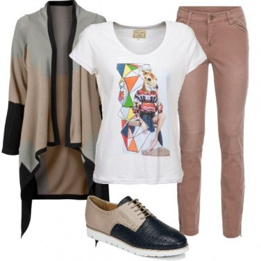 Outfit Tshirt che passione