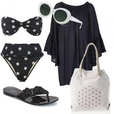 Outfit Margheritine sul bikini