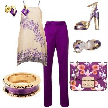 Outfit 50 sfumature di viola