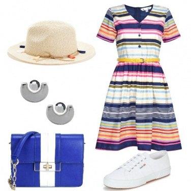Outfit Il vestito multicolor
