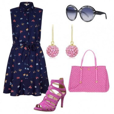 Outfit Chemisier blue