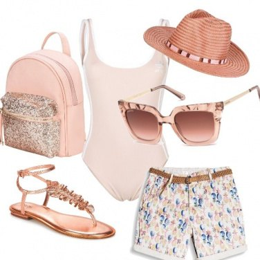 Outfit Glam in spiaggia