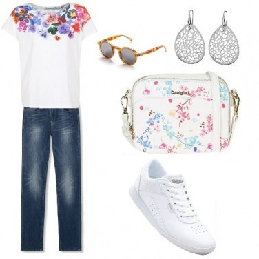 Outfit Sportiva con t-shirt