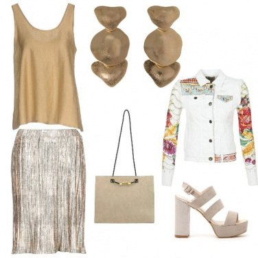Outfit Trendy summer party