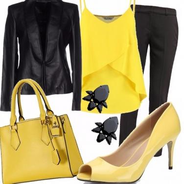 Outfit Ufficio rock