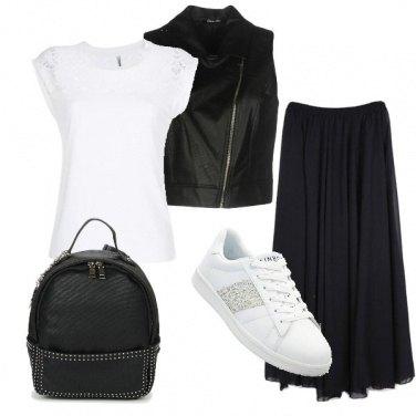 Outfit La mia t-shirt bianca